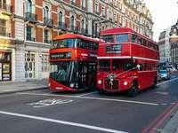 Londense bussen.