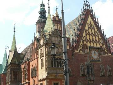 Wroclaw. - Wroclaw town hall