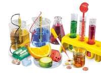 Chemie-Puzzle - Ich mag ein Puzzle