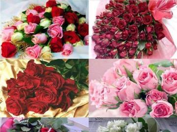 Mazzi nome giorno - Set di mazzi di fiori del giorno.