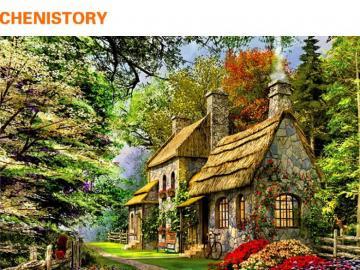 Una casa di pietra nei fiori - Una casa di pietra nei fiori