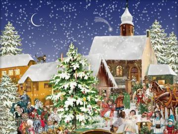 Immagine invernale - Immagine colorata invernale