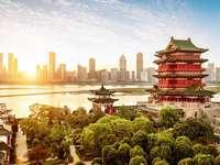Coreia do Sul - Vista da cidade na Coréia do Sul