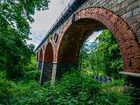 Kő viadukt Bytów-ban
