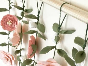 Dekoracja kwiatowa - Dekoracja do powieszenia z kwiatów