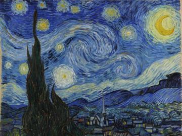 Notte stellata - Puzzle della notte stellata di Van Gogh