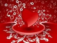Alla hjärtans dag puzzle
