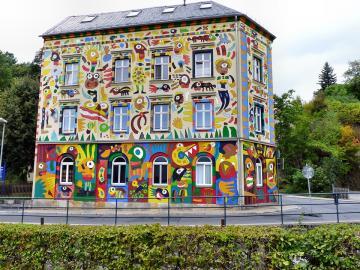 Buntes Haus - Graffiti - Buntes Haus - Graffiti.