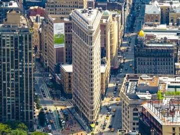 """Nueva york - Flatiron, el famoso """"hierro"""" de Nueva York"""