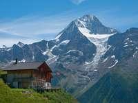 Alpi Elvețieni - Peisajul Alpilor Elvețieni.