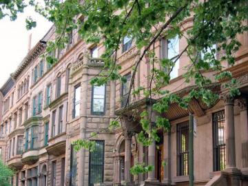 Harlem - casas de la vivienda - casas en Harlem