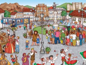 Fiesta in Spanien
