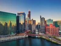 Centro città di Chicago