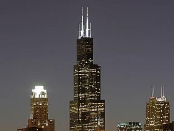 Willis Tower - View of the Willis Tower - Chicago