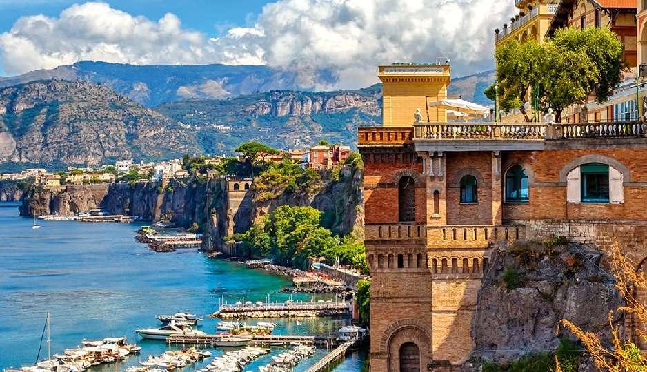 Italia. Nápoles - Europa. Italia. Panorama de nápoles (12×11)
