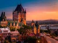 Kanada - Quebeck - Quebeck under natten