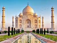 krajina - krajina, Taj Mahal, Indie