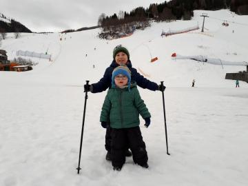Antoni Skifahren - Skiurlaub Freiheit