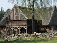 Construção histórica - Construção de madeira histórica