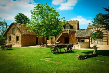 Open-air museum: a country hou - Open-air museum: a country house.