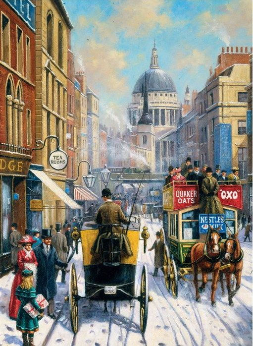 London streets in the past