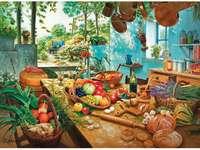 Schmackhaftigkeit in der Küche - Mediterrane Küche. Schmackhaftigkeit in der Küche.