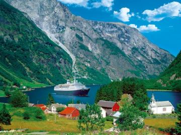 Norway fjords. - Europe. Norway. Fjords.
