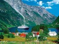 Norské fjordy.