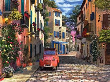 Paris street. - Europe. France. Paris street.