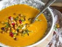 Zupa dyniowa na zimowe dni