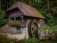 Antiguo molino histórico.