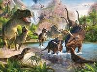 Sprookjesachtige dinosaurussen - Het is jammer dat er geen dinosauriërs meer zijn :(