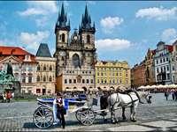 Oude stadsplein - Oude stadsplein, Praag