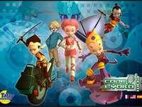Der Lyoko-Code - Dieses Spiel wird bei der Entwicklung helfen Dieses Spiel ist sehr cool Der Lyoko-Code