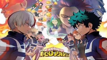 Boku no hero academy - Puzzle my hero academia