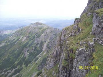 panorama - w drodze na Kasprowy Wierch