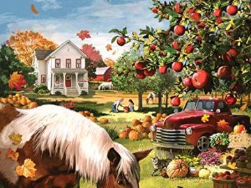 A colorful picture. - Rural colorful picture. Puzzle: autumn harvest. Autumn harvest.
