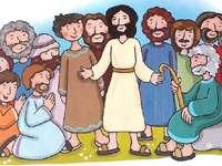 Apostoli - Le puzzle est pré-enfants et en particulier ils doivent construire les 12 apôtres