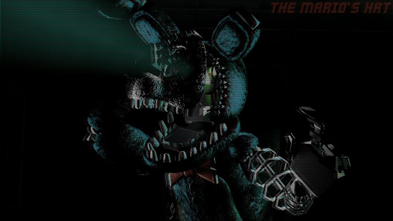 Spaß, Bonnie, der Hase - Bonnie der Hase. Spaß Spaß und Gruseln hoffen, dass Sie dieses Rätsel überleben und keine Jumpscare bekommen. Es gibt ein spiel namens fnaf und alles was du brauchst, um dich in ein büro zu bring (11×15)