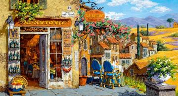 Painted Tuscany - Art. Painted Tuscany.