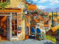 Painted Tuscany online puzzle