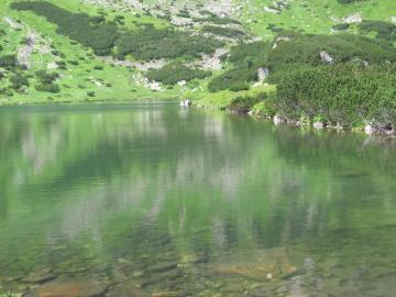 Πράσινη λίμνη - Πράσινη λίμνη στα Όρη Τάτρα