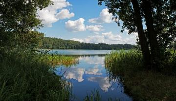 Lake in Olecko. - Landscape. Lake in Olecko.