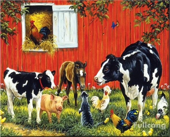farm - Gyerekek számára. Állatok vidéken (7×7)