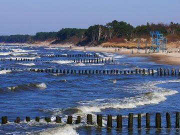 Landschaft - Landschaft, Strand, Wellenbrecher