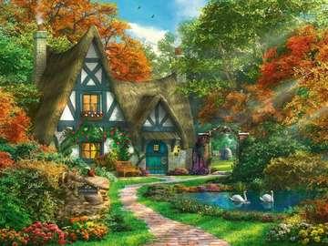 Un'immagine colorata - Paesaggio. Un'immagine colorata