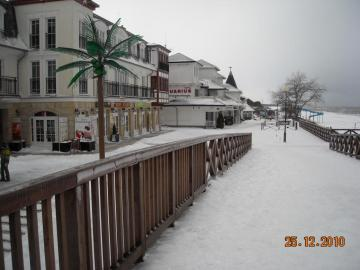 Mielno en hiver - Une promenade autour de Mielno en hiver