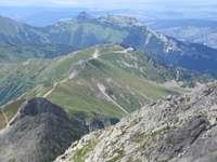 Άποψη του Kasprowy Wierch - Άποψη του Kasprowy Wierch