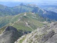 Vista de Kasprowy Wierch - Vista de Kasprowy Wierch