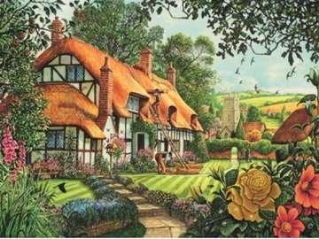 Orange residence. - Orange rural residence.